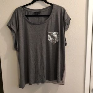 Forever21 Grey Tee.